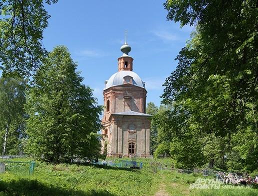 Старая церковь в Богородицком