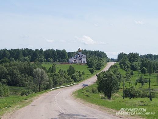 Строительство нового монастыря у деревни Всеволодкино