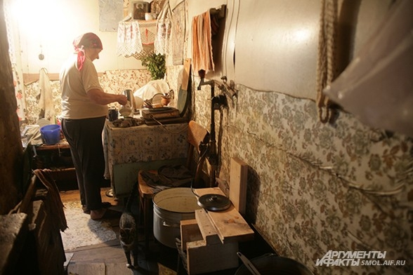 В Доме бабы Зины чувствуесь себя где-то в 1960-х