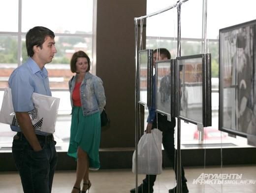 Смоляне идут на выставку