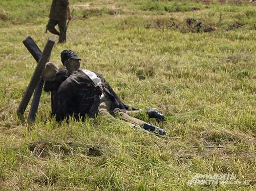 Муляж солдата