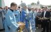 На праздник пришёл помолиться Губернатор Смоленской области Алексей Островский