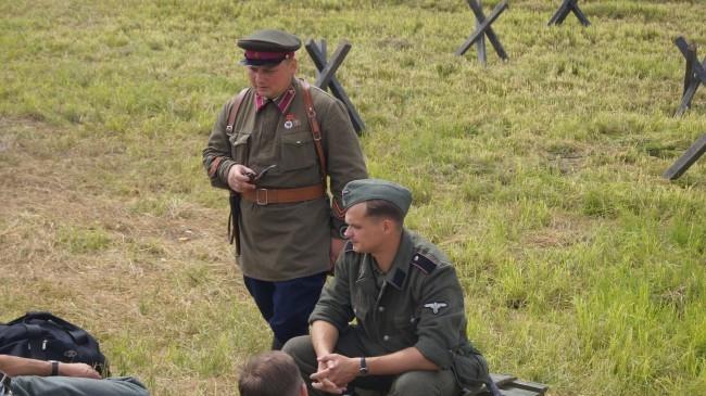 Советские и немецкие военные вместе