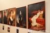 "Справа - Елена Яковлева.  Жорж Жюль Виктор Клерэн,  ""Портрет Сары Бернар"""