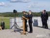 Выступает министр обороны Германии Томас де Мезьер//Minister Thomas de Maizière's Speech
