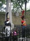 Возложение цветов к памятнику 1812 года