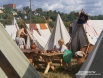 Лагерь воинов