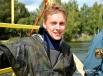В роли «утопающего» - профессиональный водолаз