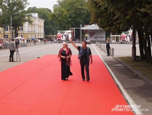 Алексей Булдаков с супругой
