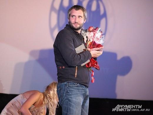 Режиссер фильма-победителя Юрий Быков