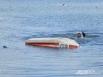 Кульминация: представление от водолазов. Посередине озера перевернулась лодка, человек за бортом