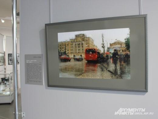 Игорь Черной пронаблюдал за волшебством, которое творит с городом дождь.