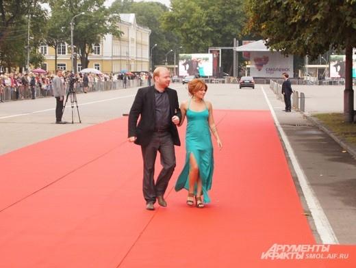 Александр Лойе с супругой