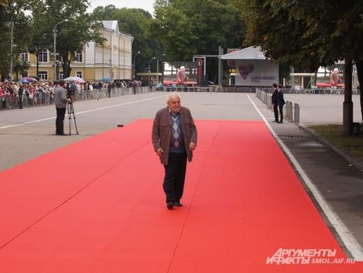 На красной дорожке - Алексей Симонов, сын Константина Симонова, писателя и поэта