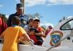 Малыши на белом катере - только под контролем заместителя начальника ГИМС ГУ МЧС России по Смоленской области Александра Галушко