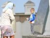 В светлый Яблочный спас в храме всегда много детей