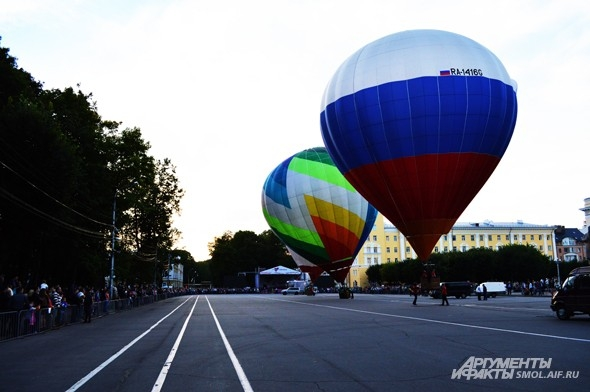 Три шара осталось на площади