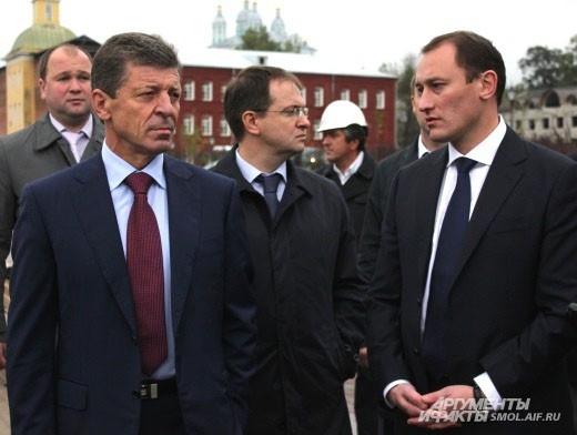 Дмитрий Козак остался доволен состояние набережной.