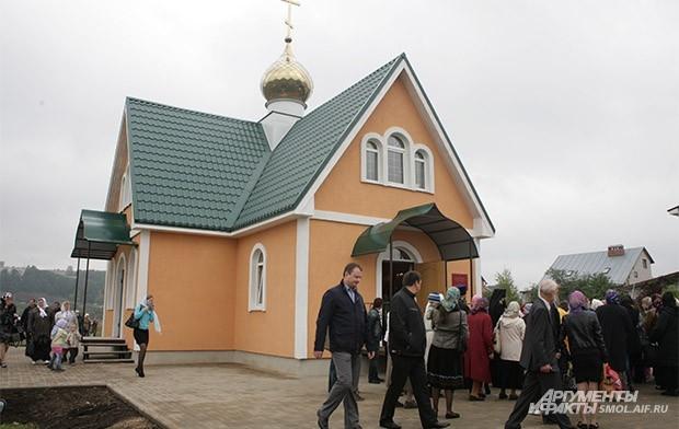 Храм в честь Бориса и Глеба