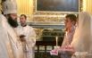 Беседа Епископа Исидора с молодожёнами
