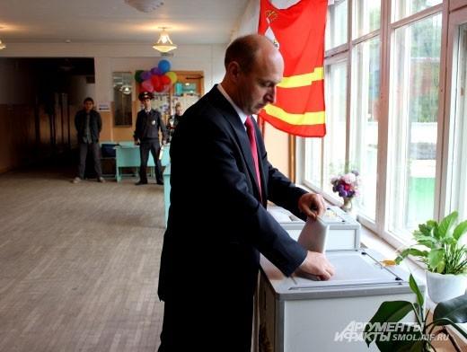 Евгений Павлов сделал свой выбор в школе №11.