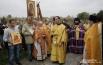 Молебен с участием Епископа Исидора