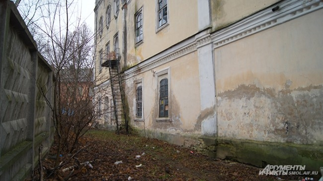 Здание ребует капитального ремонта