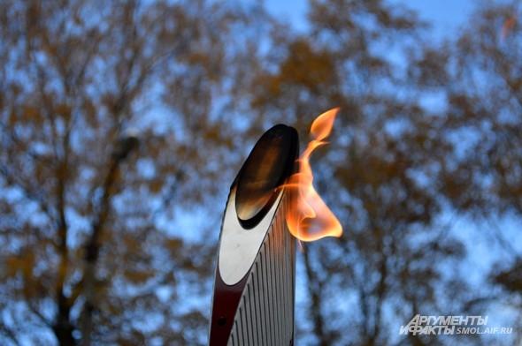Олимпийский огонь - главный символ Олимпиады
