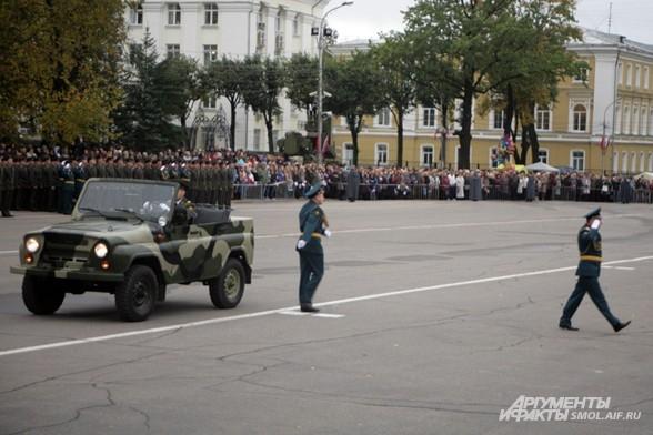 Поздравление с днём города от первых лиц Смоленской области