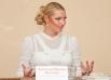 После мастер-класса и концерта Анастасия Волочкова пообщалась с местными СМИ