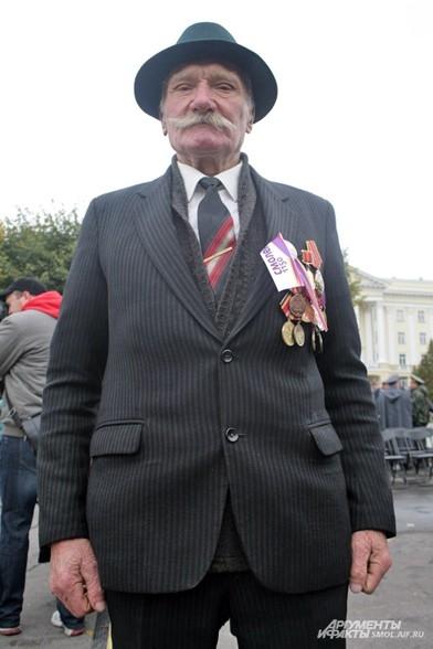 Ветеран на празднике