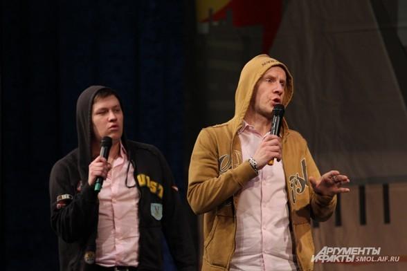 Жигуль и Череп на этот раз шутили об островках безопасности на Кирова.