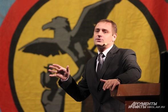 Президент смоленского клуба КВН Юрий Герасев.