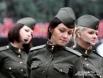 Именно с этим попурри девушки вышли на площадку у памятника А. Твардовскому и В. Теркину.