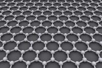 Гексагональная кристаллическая решётка графена.