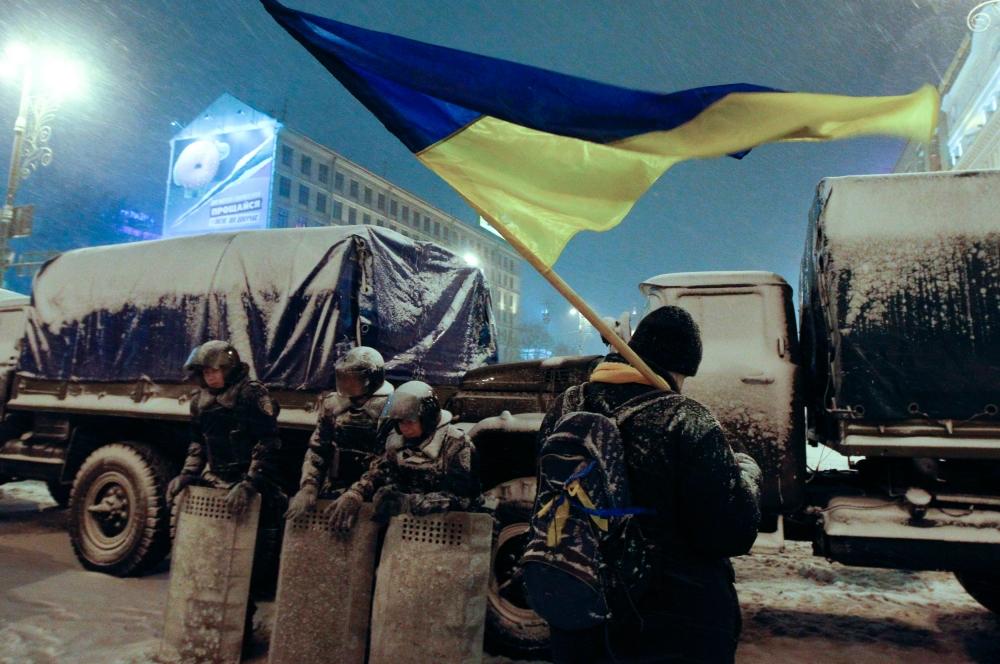 Параллельно с этим силовиками были разогнаны пикеты на Институтской улице и улице Грушевского, а также на Крепостном переулке и ряде других.