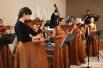 Открытие выставки проходило под живую музыку.