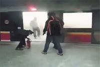 Возгорание поезда Inspiro в варшавском метро.