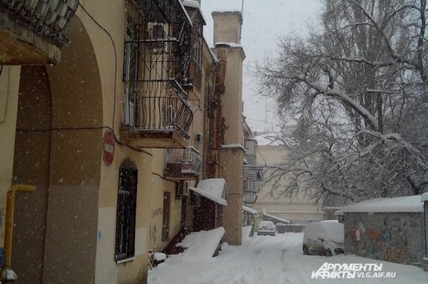 Такого снегопада давно не знали здешние места