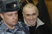 Михаил Ходорковский (справа).