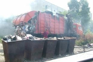 В Челябинске воруют мусорные контейнеры