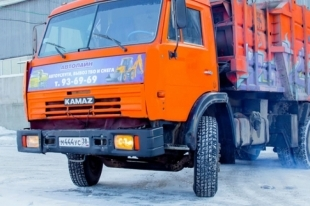 Двое молодых людей угнали КамАЗ в Челябинской области