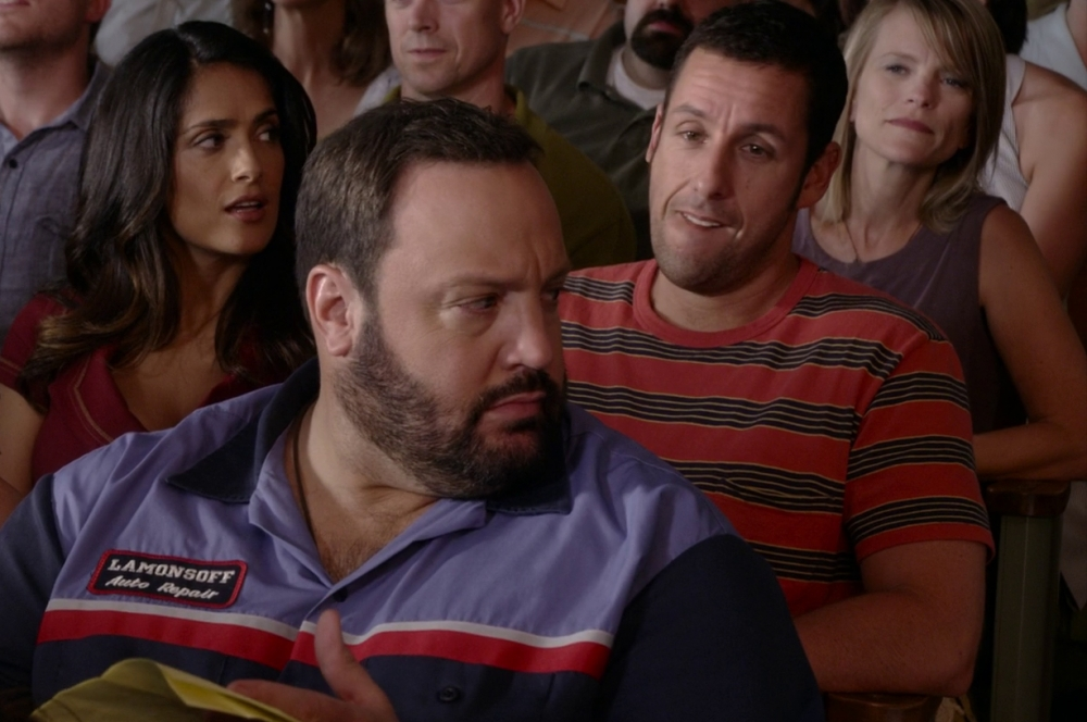 Пятёрку самых переоценённых актёров Голливуда замкнул коллега Сэндлера Кевин Джеймс – они вместе сыграли в «Одноклассниках 2» и приняли участие в озвучке мультфильма «Монстры на каникулах».