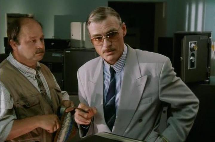 В конце 90-х Щербаков снова блеснул на широком экране, сыграв роль бизнесмена Олега Ивановича в авантюрной комедии Аллы Суриковой «Хочу в тюрьму».