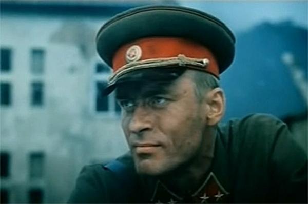 Затем Щербаков исполнил роль генерала Михаила Романова, в 1941 году награждённого Орденом Красного Знамени за оборону Могилёва, в двухсерийном фильме «Битва за Москву». Фильм получил сразу несколько советских кинопремий.