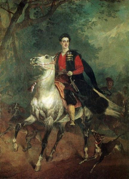 В начале 30-х годов художник нарисовал портрет действительного статского советника, князя Сан-Донато Анатолия Демидова, известного русского мецената. Работа хранится в Галерее нового искусства во Флоренции.
