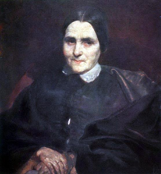 На протяжении двух лет Брюллов работал над портретом Екатерины Титтони, матери известного итальянского негоцианта Анджело Титтони. Сейчас картина находится в коллекции Титтони и периодически выставляется в Риме.