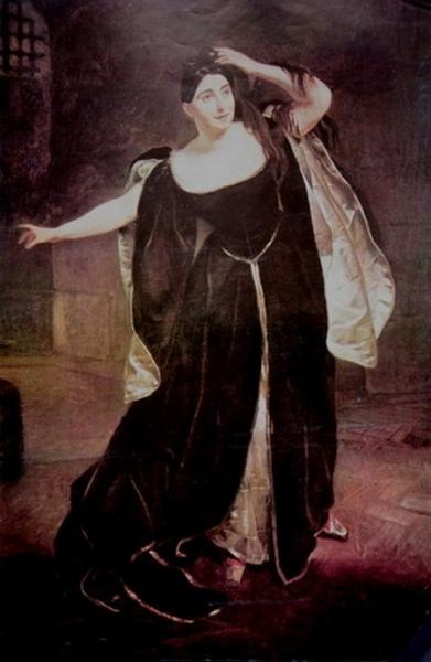 В миланском театральном музее «Ла Скала» хранится портрет Джудиты Пасты в образе Анны Болейн. Брюллов написал эту картину в 1834 году.