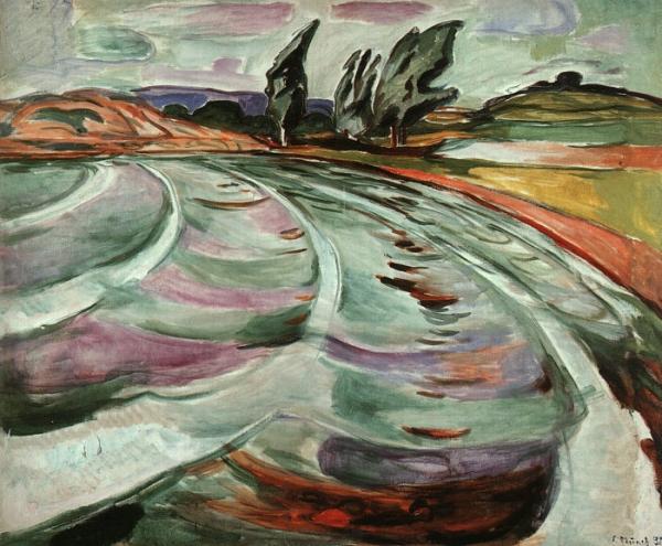 В 1920-х годах у художника произошло кровоизлияние в стекловидное тело правого глаза, и Мунк почти перестал писать. В последние десятилетия жизни к нему пришли слава и признание, а в 1933-м он стал кавалером Большого креста ордена Святого Олафа.