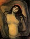 Затем он переехал в Германию, где познакомился с польским писателем Станиславом Пшибышевским и его женой, которая стала для художника музой. Она позировала ему для многих известных картин, включая «Мадонну», «Вампира», «Ревность» и «Поцелуй».